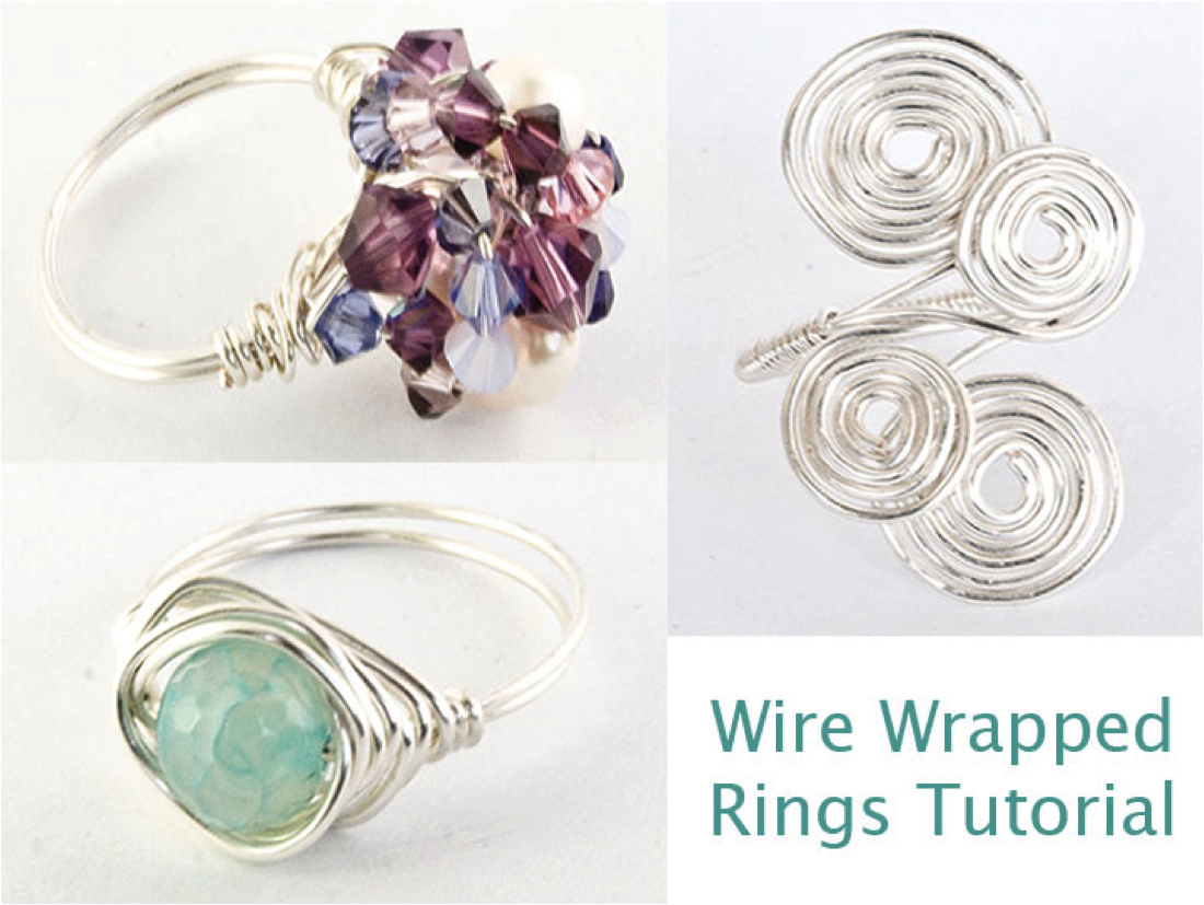 Wire Wrapped Ring Tutorial : Ljs launches jewellery making tutorials wire wrapped