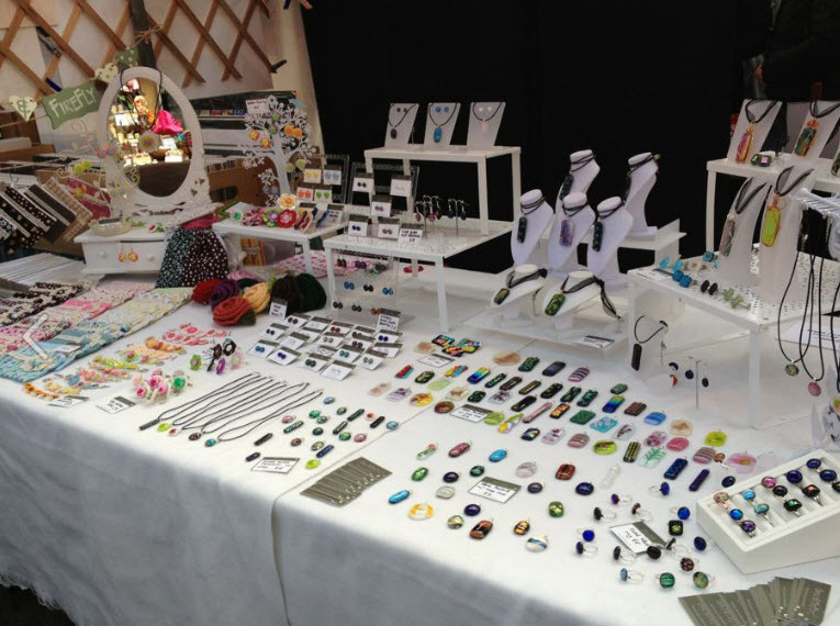 Christmas Craft Fair Stall