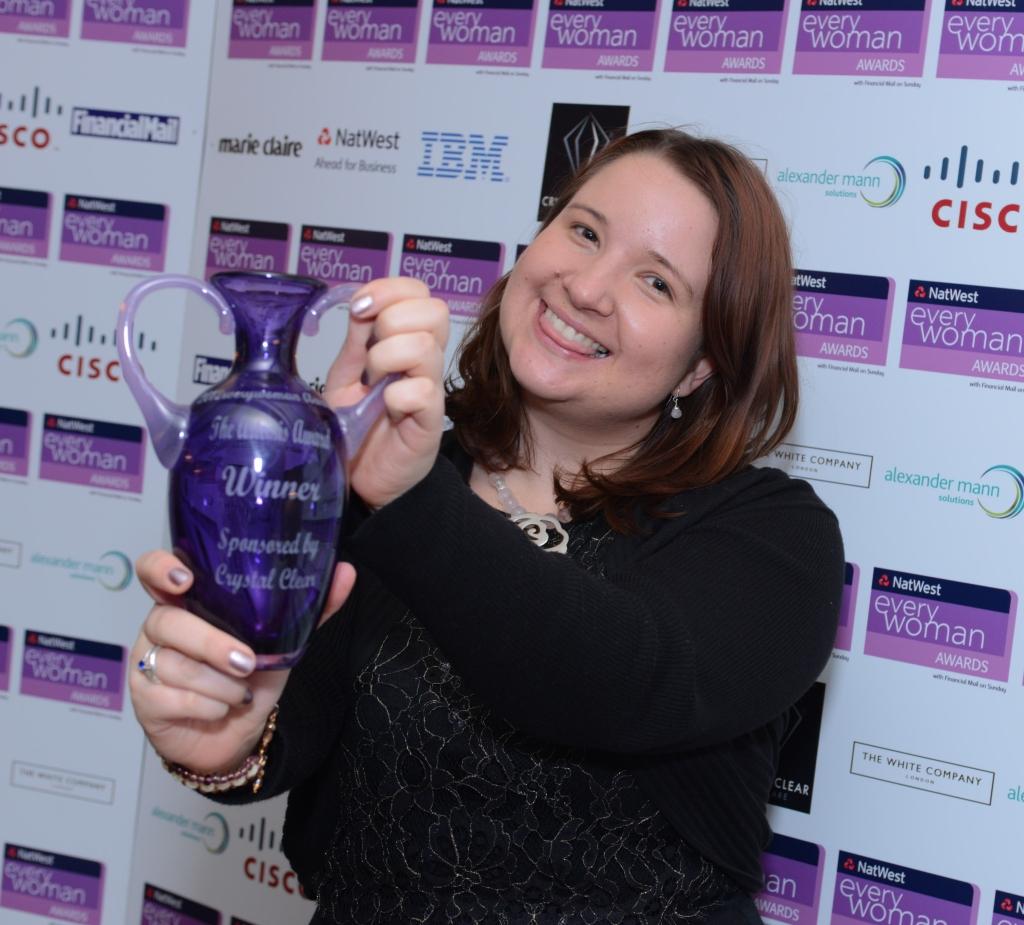 Jess Award Pic Happy