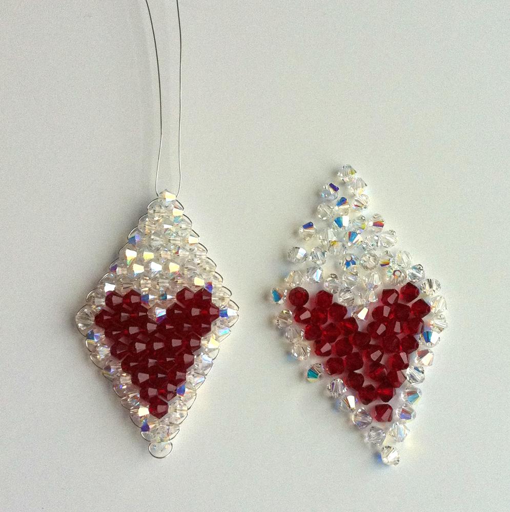 Make sparkling Valentine\'s earrings « London Jewellery School