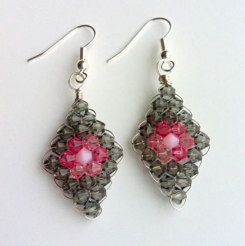 make cyrstal earrings