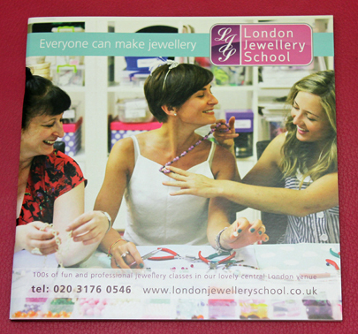 London jewellery school prospectus