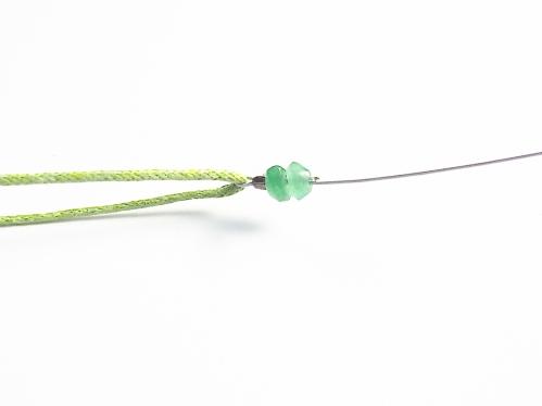 Make a beaded bracelet