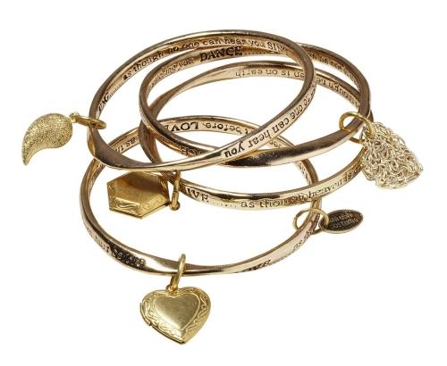 wrap stacking bangles
