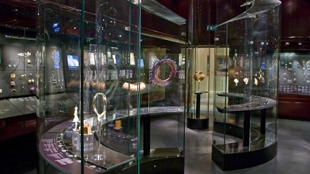 The jewellery gallery at the V&A - a treasure trove for the lovers of bling