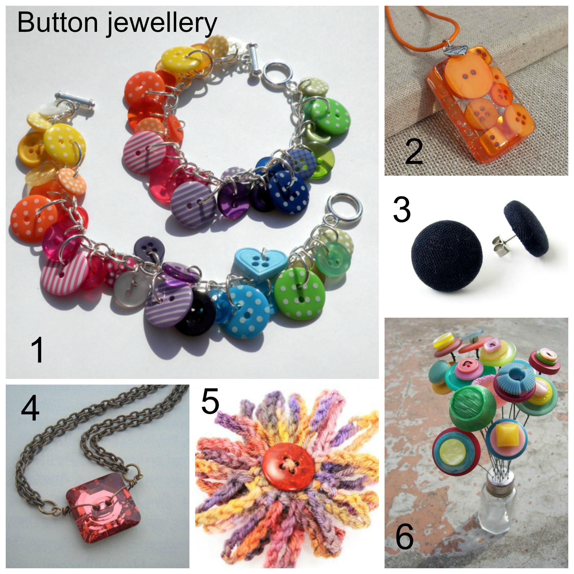 Button Jewellery « London Jewellery School