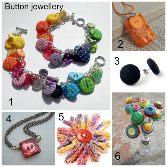 button jewellery making