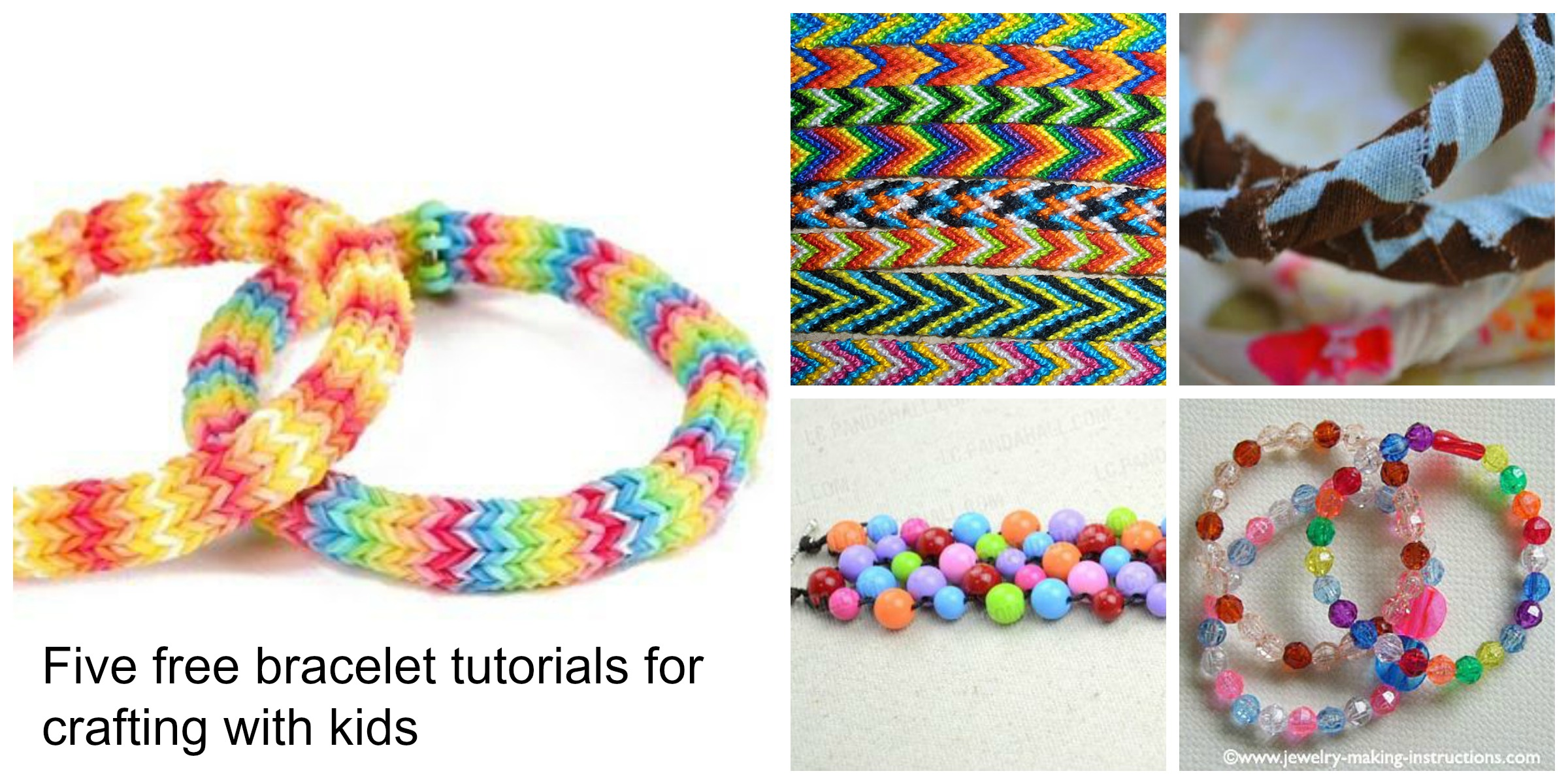 Summer Holiday Jewellery Making Part One Bracelets For