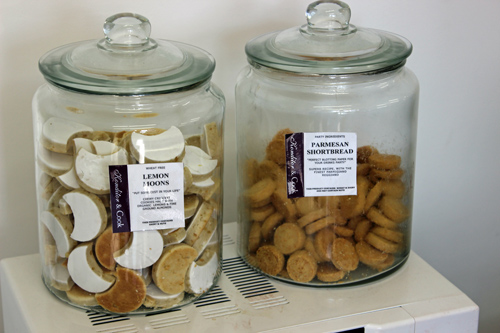 But don't worry - we've unpacked the biscuits