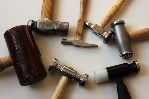 jewellery making hammers