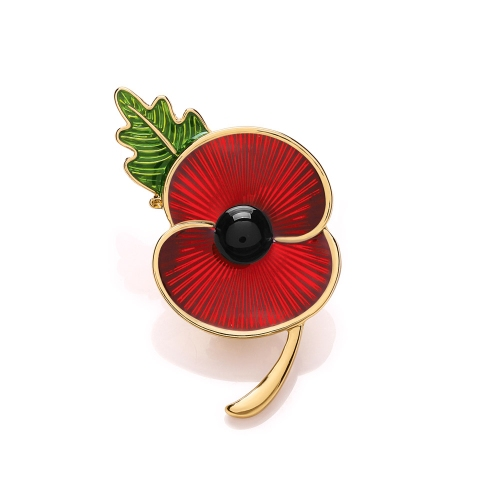 comemorative poppy jewellery