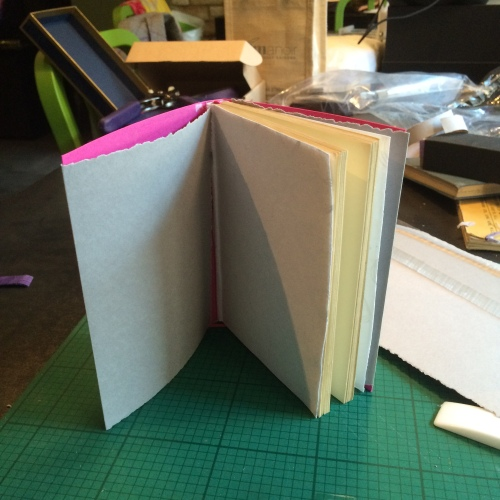 soutache book binding project