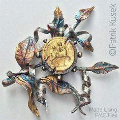 pmc flex metal clay jewellery making