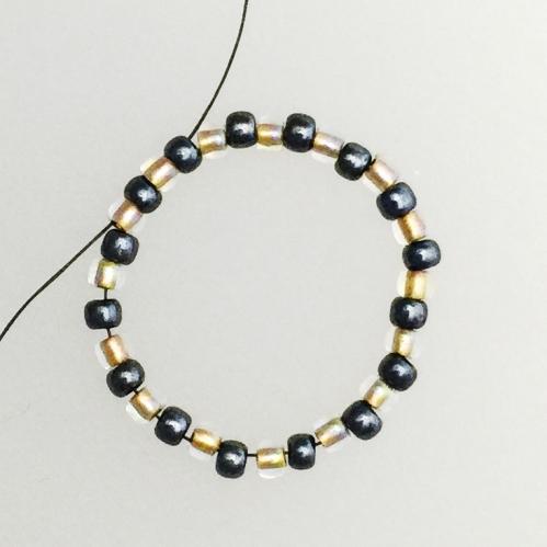 bead weaving earrings