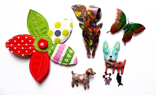 brooches