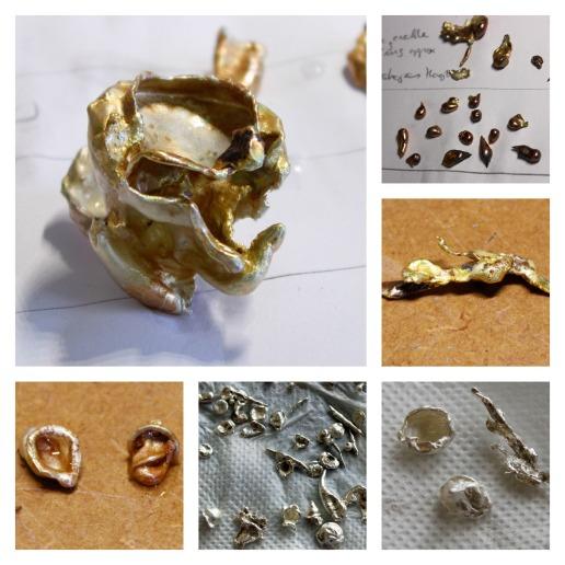 drop casting silver