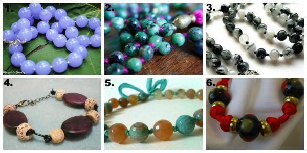 pearl colour collage