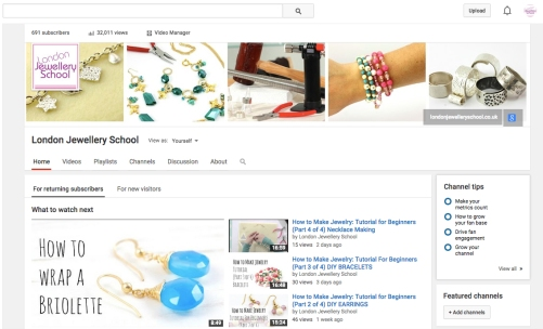 jewellery making video tutorial
