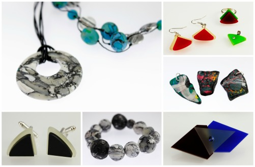 perspex polymer clay jewellery classes