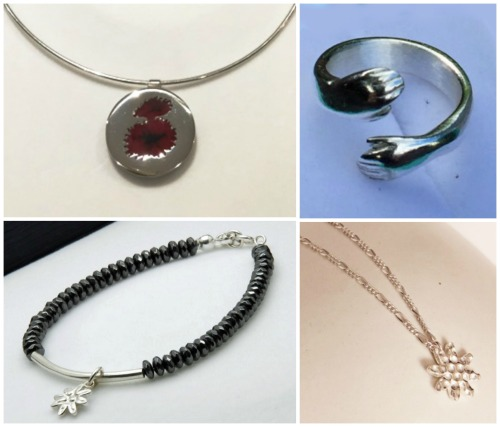 silver jewellery by Julie MacKenzie