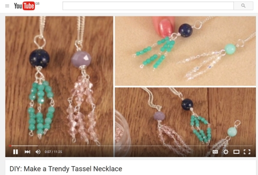 jewellery tutorial