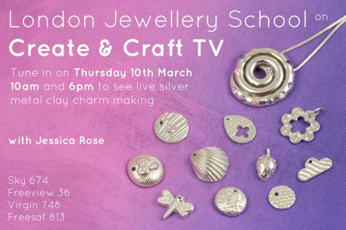 metal clay jewellery lesson