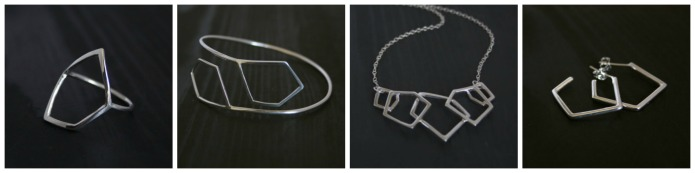 Sophie Arnott - Anvil and Ivy Geometric Jewellery Collection 1
