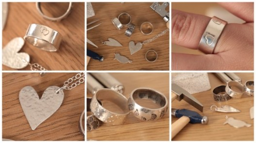 Jewellery School Online_Silver Jewellery Workshop Examples