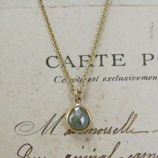 Rose Cut Diamond Necklace_Alexis Dove