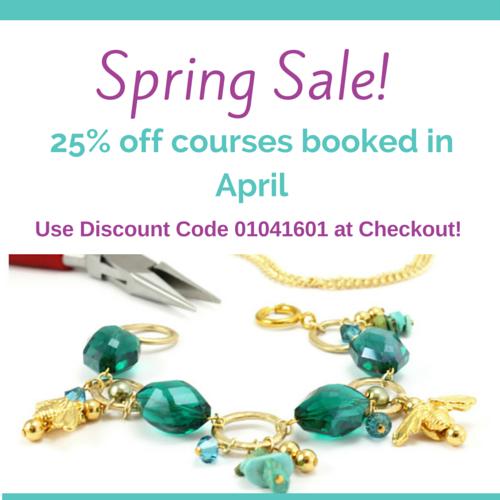 London Jewellery School - April Spring Sale!   LJS Blog Post