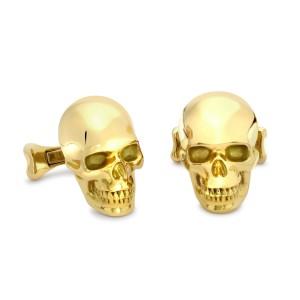 theo fennell skull cufflinks