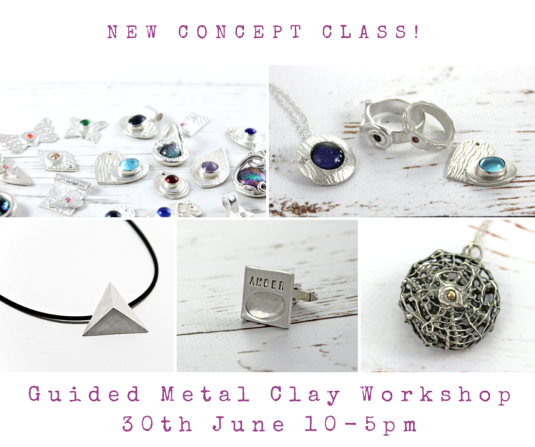 London Jewellery School Blog - Guided Metal Clay Workshop