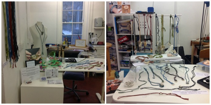 London Jewellery School Blog_Penny-Akester and Anna Campbell new studio