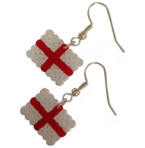 London Jewellery School Blog - Patriotic Jewellery Inspiration - England Flag hama2