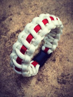 London Jewellery School Blog - Patriotic Jewellery - England Cord Bracelet