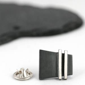 London Jewellery School Blog - Men's Jewellery - Louy Magroos original_handmade-oxidised-silver-deco-pinstripe-tie-pin
