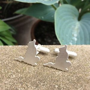 London Jewellery School Blog - normal_handmade-england-outline-cufflinks