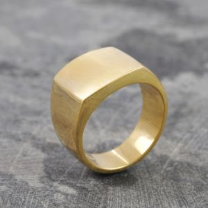 London Jewellery School Blog - Men's Jewellery - normal_men-s-solid-silver-square-sovereign-signet-ring