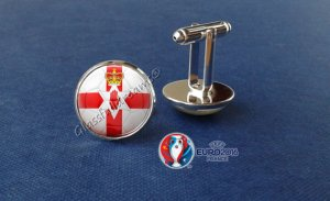 London Jewellery School Blog - Patriotic Jewellery Inspiration - Northern Ireland Cufflinks