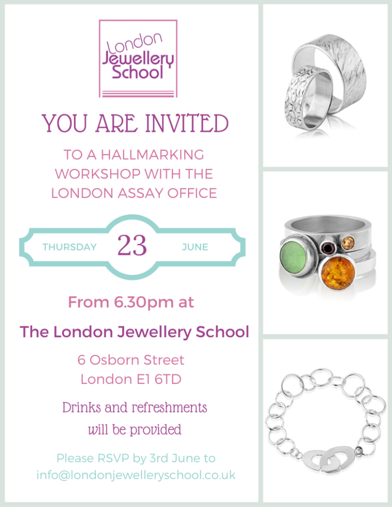 London Jewellery School_Hallmarking Workshop June 2016