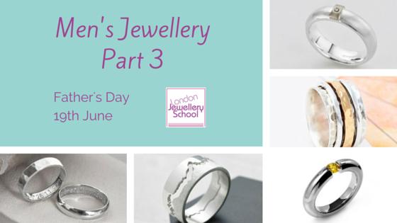 London Jewellery School Blog - Men's Jewellery - Part 3