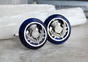 Patriotic Jewellery -Scottish Thistles