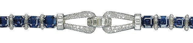 Queen's bracelet_Sapphires and Diamonds