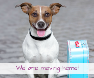 We are MOVING! Facebook Post
