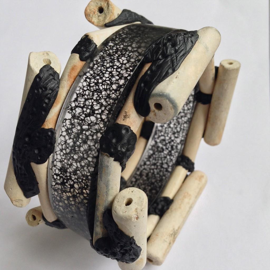 london-jewellery-school-blog-diploma-in-creative-jewellery-george-galula-resin-and-clay-bangle
