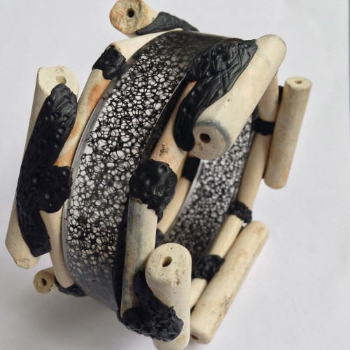 london-jewellery-school-blog-diploma-in-creative-jewellery-george-galula-resin-and-clay-bangle