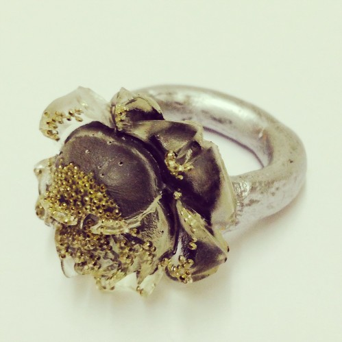 london-jewellery-school-blog-george-galula-resin-rose-ring