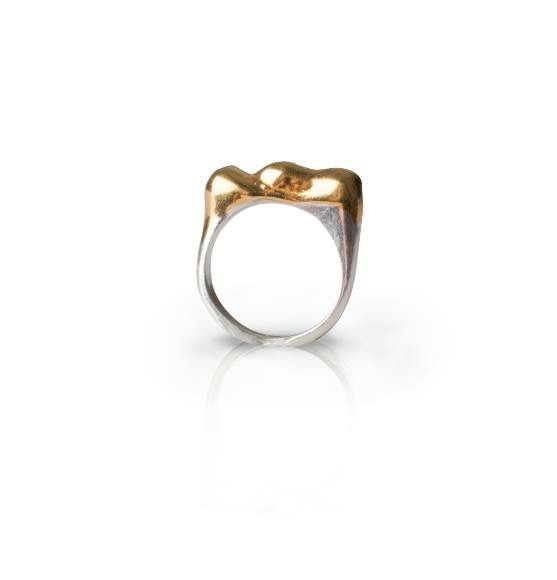 london-jewellery-school-blog-zoe-porter-diploma-student-wax-carved-gold-dipped-ring