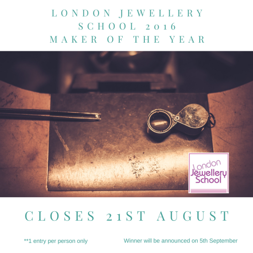 London-Jewellery-School-2016-jewelelry-maker-of-the-year-competition