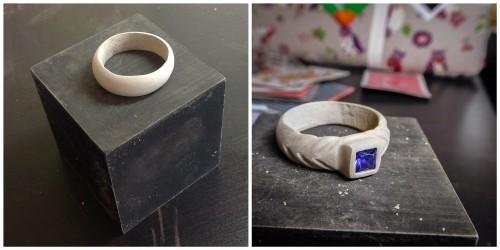 loondon-jewellery-school-blog-art-clay-950-carved-gemstone-ring-shrinkage-test